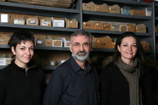 Michel und seine Töchter Celine und Marjorie