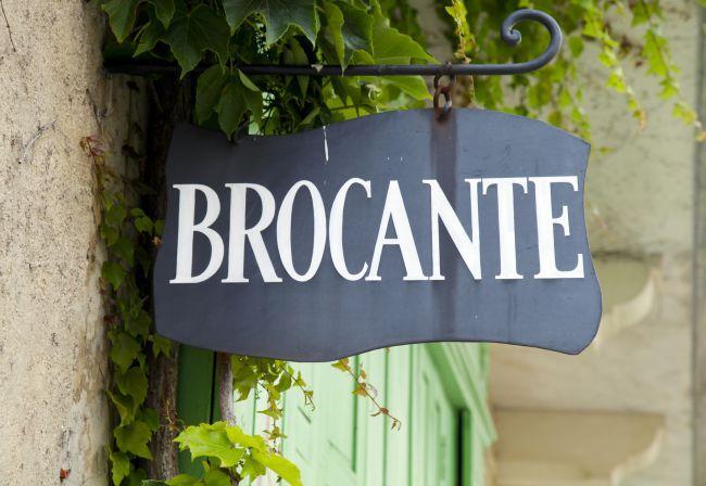 Winterliche Flohmärkte in der Provence