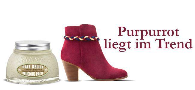 Geschenkidee Nr. 3: Purpurrot liegt im Trend