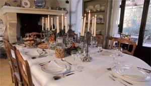 Festtagstisch in der Provence