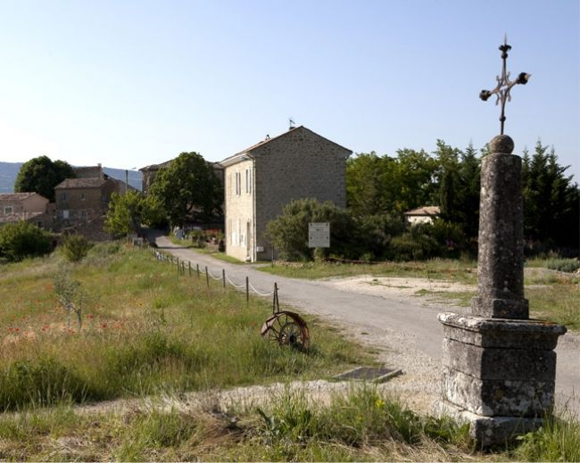 Die Gärten der Abtei von Valsaintes