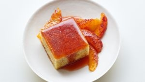 Blood Orange Sponge Cake