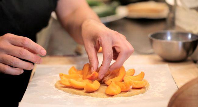 Apricot & Almond Tart