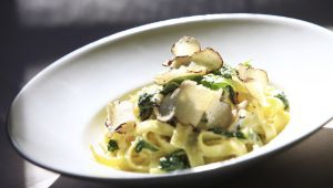 Mathias Bettinger's White Truffle Tagliatelle
