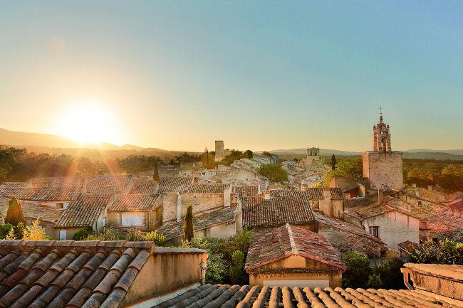 Provence captured in 3 beautiful sunsets