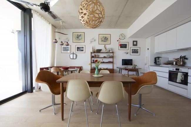 A cozy interior