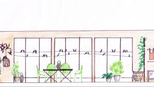 Before & After: The Bird Balcony Interpreted by Slowgarden