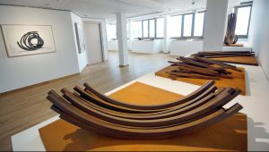Bernar Venet at the Regards de Provence Museum