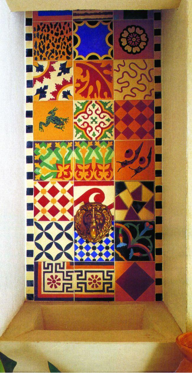 Provençal tiles
