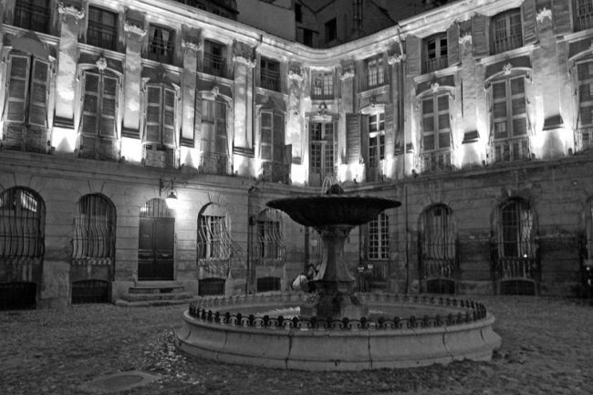 Aix-en-Provence in Black and White