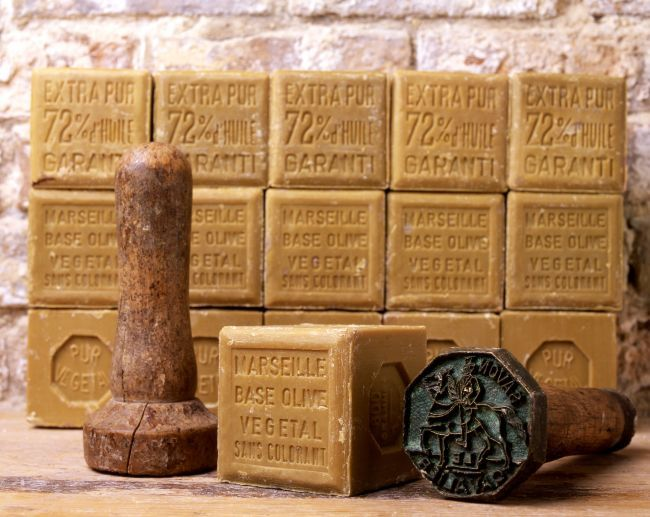 Authentic soap from Marseille