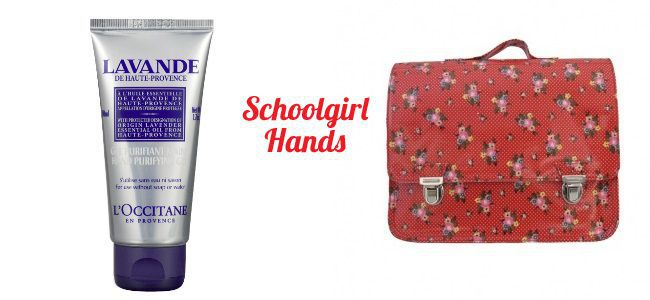 Gift Idea # 1: Schoolgirl Hands