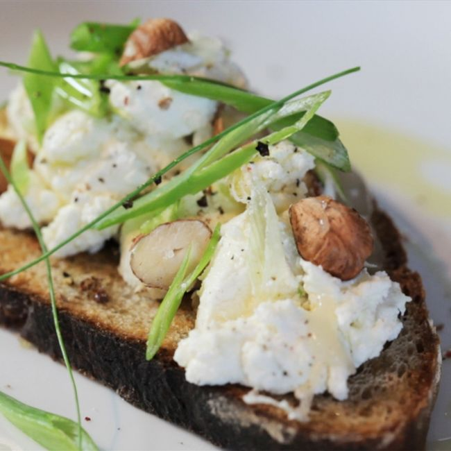 Goat Cheese Toast