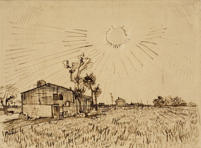 Van Gogh's Drawings On Show in Arles
