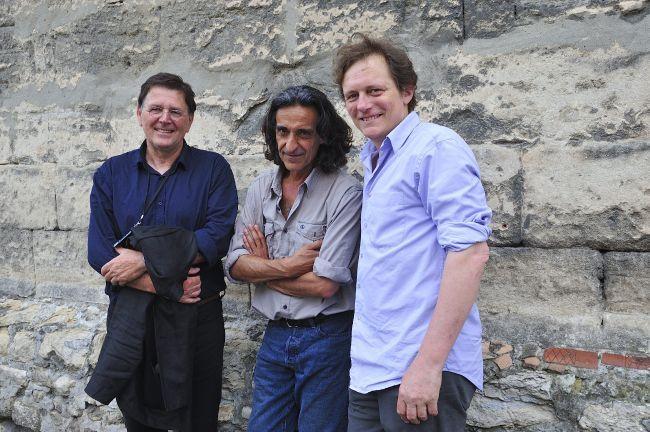 Olivier Baussan, Paulo Nozolino and François Hébel