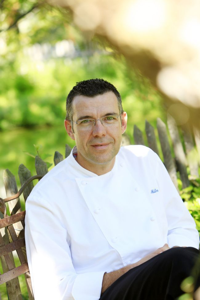 Head chef Michel Hulin