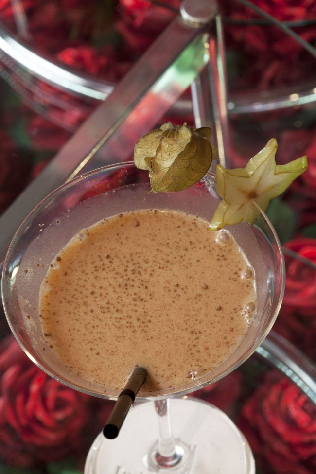 Chocolate Martini : a Christmas Cocktail by the Barman from the Gray d'Albion in Cannes