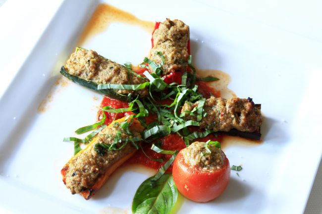 """Petits Farcis"" or Stuffed Vegetables from Nice"