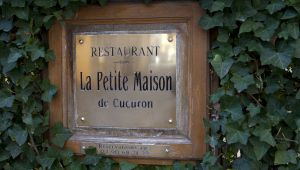 Eric Sapet's La Petite Maison, or the Art of Putting Provence on a Plate...