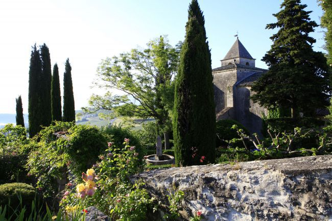The Saint-Michel Priory Garden, A Green Gem