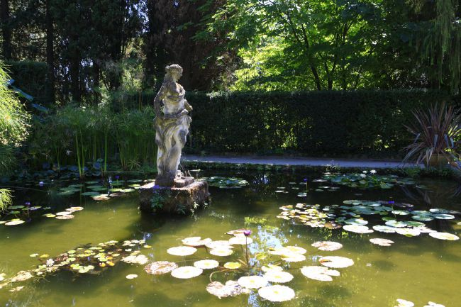 The Exotic Ambiance of the Serre de la Madone Garden