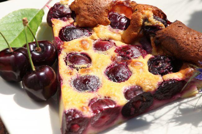 Provençal Cherry Clafoutis
