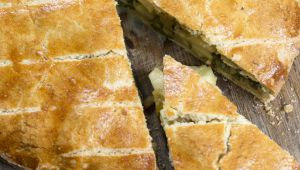 Swiss Chard Pie, A Dessert of Provence