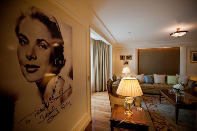 Carlton Hotel in Cannes, Grace Kelly suite