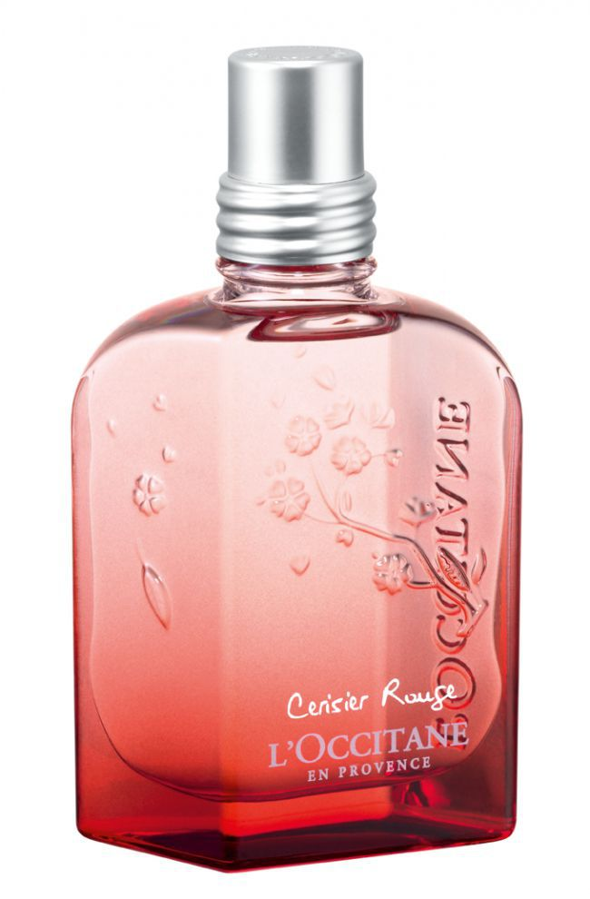 Cerisier Rouge : An Intense & Delicate New Fragrance From L'Occitane