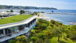 All the Charm & Splendor of the French Riviera at the Cap d'Antibes Beach Hotel