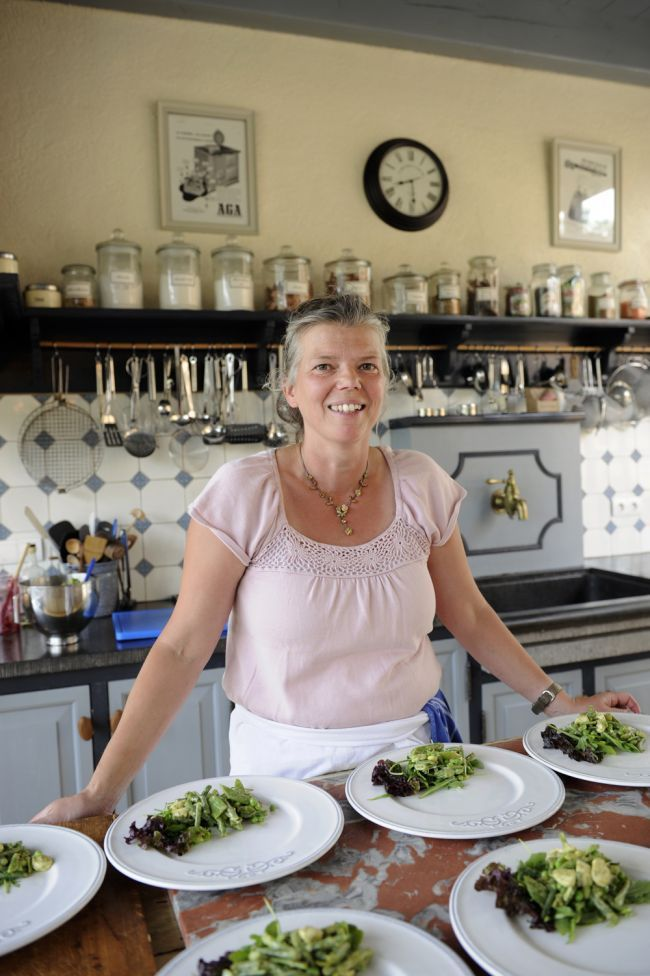 In the kitchen of Joyce Borgmann