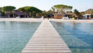 En el corazón de las playas más bellas de Córcega