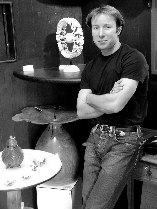 Mathias de Malet, el escultor de las esencias de la garriga