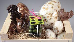 Fruidoraix, huevos de turrón para la Pascua