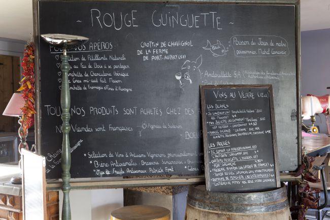 Rouge Guinguette, un encantador bistró rural
