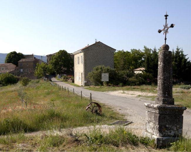 Los jardines de la Abadía de Valsaintes