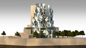 Arles accueillera la tour de Frank Gehry en 2018