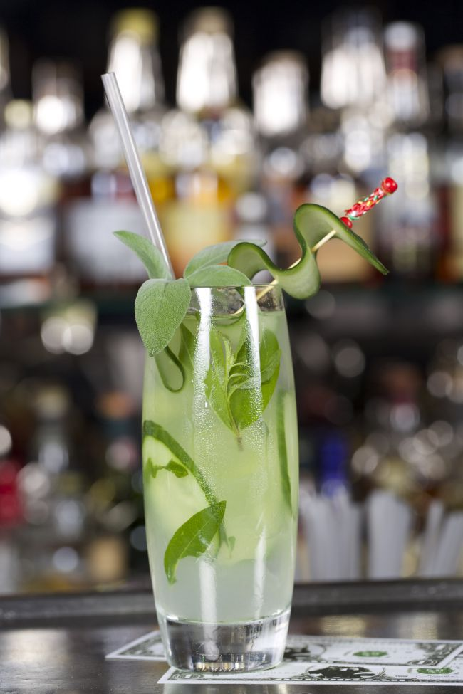Le cocktail verveine : le jus frais de l'été par Guillaume Ferroni