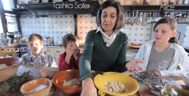 La recette de la pâte d'amande