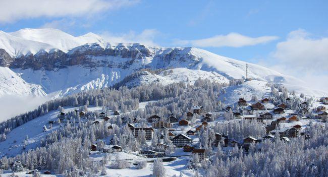 Valberg, station de ski située dans la vallée du Mercantour