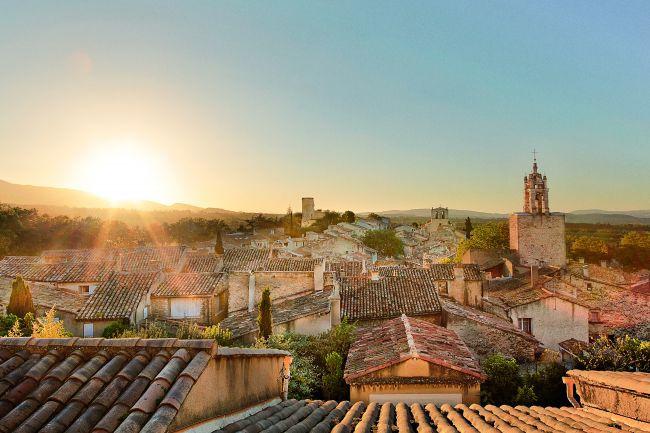 La Provence en 3 beaux couchers de soleil