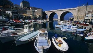 Le Vallon des Auffes, port pittoresque à Marseille