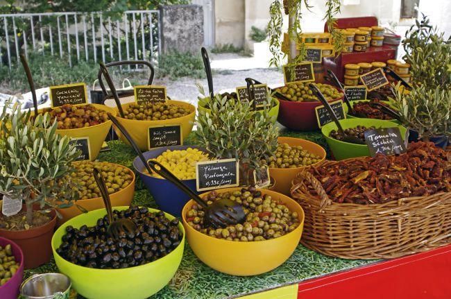 Balade sur les marchés de Provence