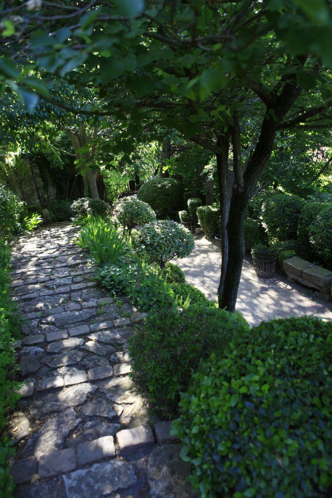 Le jardin de la Louve à Bonnieux: de la verdure Haute couture