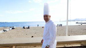 Bertrand Schmitt, chef des restaurants de l'Hôtel Majestic Barrière à Cannes