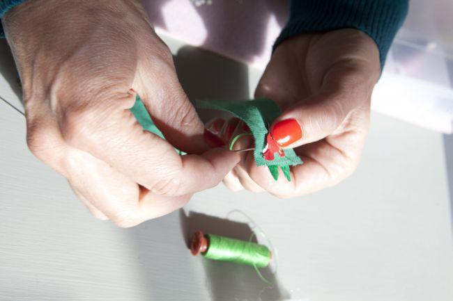 Décorations de Noël : la tendance hibou vue par Lise Petermann