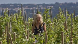 Soledad Tari, vigneronne au Domaine de la Bégude