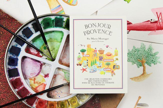 «Bonjour Provence», le city guide estival de Marin Montagut