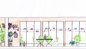Avant-Après ! Un balcon aux oiseaux décrypté par Slowgarden