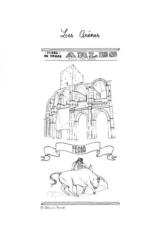 Illustrations de Clémence Monot